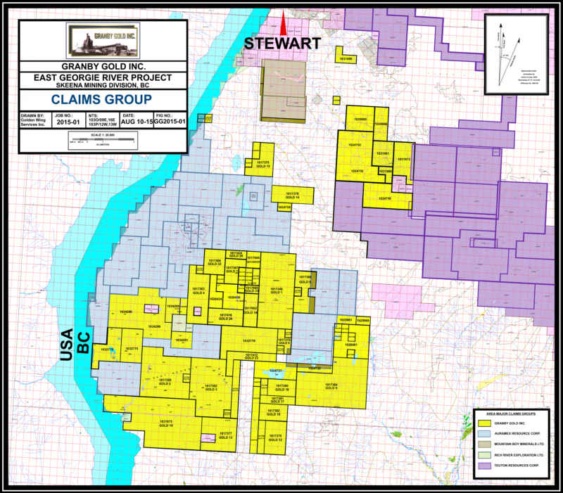 Granby Gold Inc  | Stewart Area Claims
